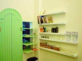 美式清爽绿色收纳设计欣赏