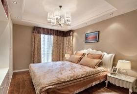 欧式粉色卧室设计效果图欣赏