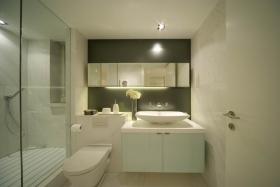 简约风格温馨白色卫生间欣赏