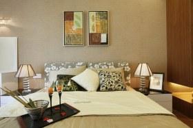 现代风格清爽黄色卧室设计图片