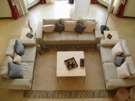 宜家米色休闲客厅设计图