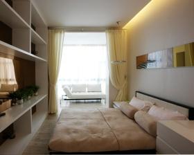 白色宜家风格卧室设计图