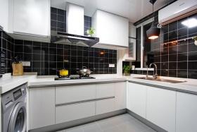 白色现代时尚厨房美图赏析