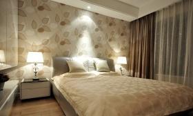 休闲米色现代风格卧室图片赏析