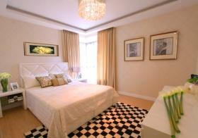 米色简欧卧室设计图片
