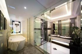 现代风格白色时尚卫生间装修设计