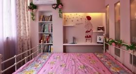 田园风格粉丝儿童房设计装潢
