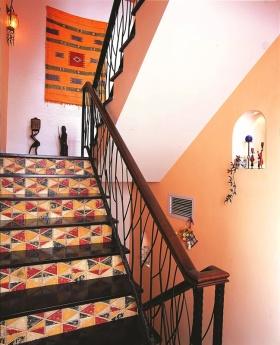 创意多彩混搭楼梯设计欣赏