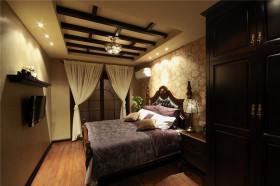 新古典黄色卧室装潢设计图