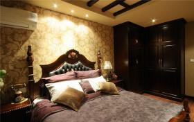美式风格黄色雅致卧室图片赏析