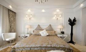 新古典风格灰色卧室效果图欣赏