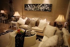 新古典风格客厅沙发设计装潢图