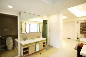 米色宜家风格卫生间设计效果图