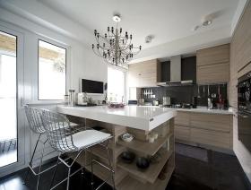 简约风格时尚白色厨房设计