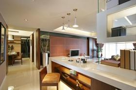 现代米色时尚吧台设计图片