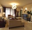 混搭风格白色客厅背景墙美图欣赏