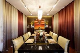 米色新古典风格餐厅赏析