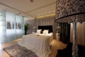 新古典风格白色卧室设计效果图