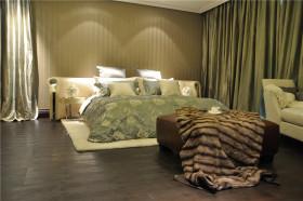 新古典灰色卧室装潢案例