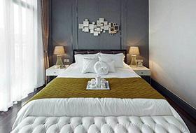 时尚现代风格卧室效果图