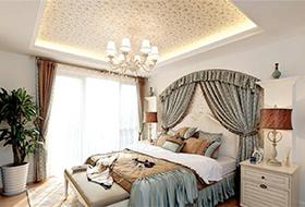 欧式田园卧室装修
