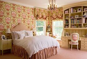 粉色温馨卧室装修设计