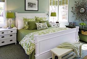 自然休闲美式卧室装修