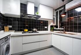 白色现代时尚厨房