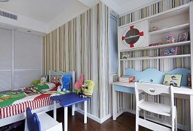 白色现代儿童房装饰