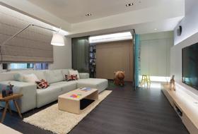 现代风格大气客厅设计
