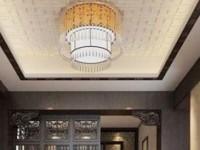 中式风格的家,吊灯是这样的