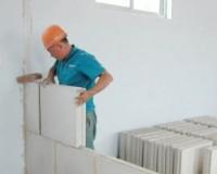装修新建墙体分类与施工工艺