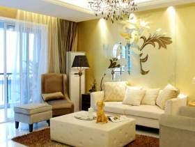 欧式华丽三室装修效果图