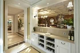 欧式大气客厅酒柜设计