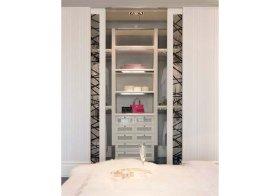欧式卧室收纳极强型衣柜设计