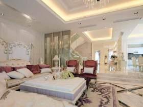 简欧浪漫风格别墅设计装修设计美图欣赏