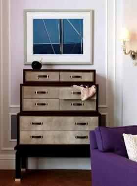 复古时尚美式收纳柜设计效果图