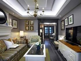 美式现代一居装修效果图