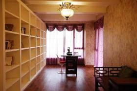 整洁优雅田园式书房装潢设计