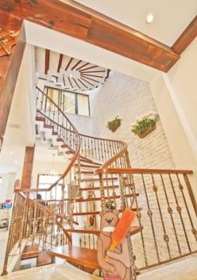 可爱田园风楼梯设计