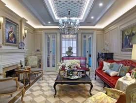 欧式四居室装修案例