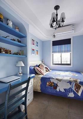 地中海风儿童房装潢设计