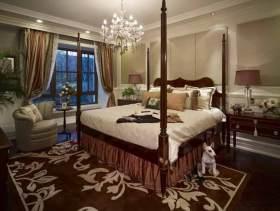 温馨美式卧室装修图片