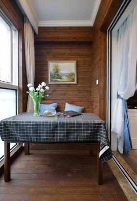 美式田园风阳台布置装潢