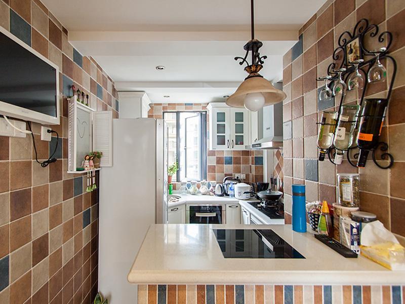 清新可爱田园风格实用厨房装修
