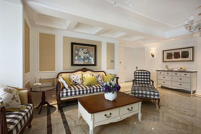 大厅通体采用了白色乳胶漆,简约而不平凡。