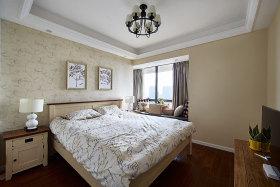 米色卧室简雅清新装修设计
