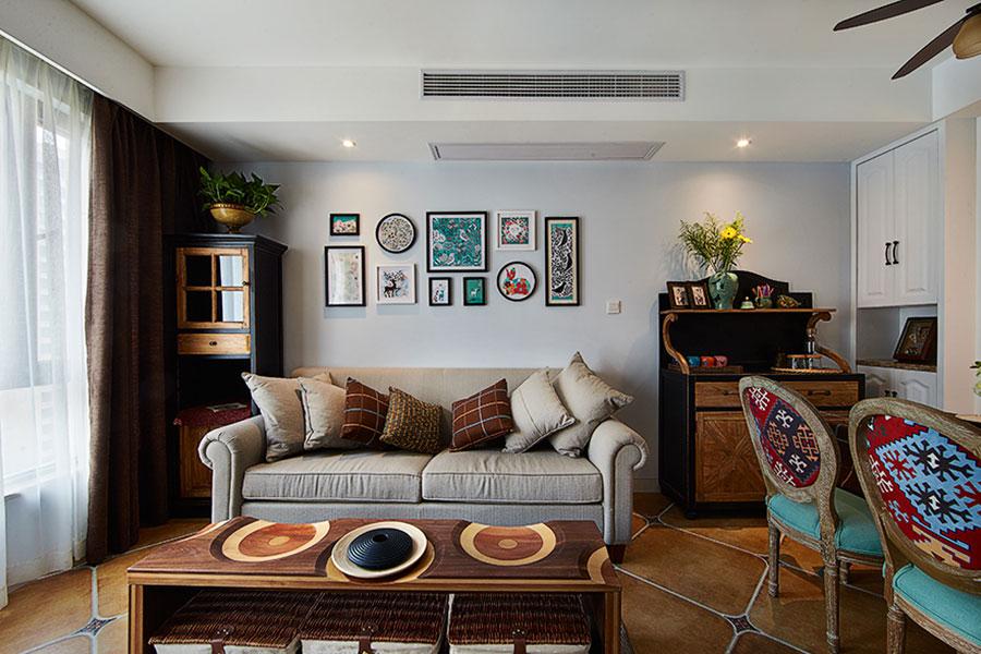 40平小户型简欧式客厅