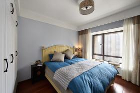 简约田园卧室装饰飘窗设计