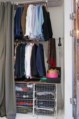 实用现代风格衣柜展示
